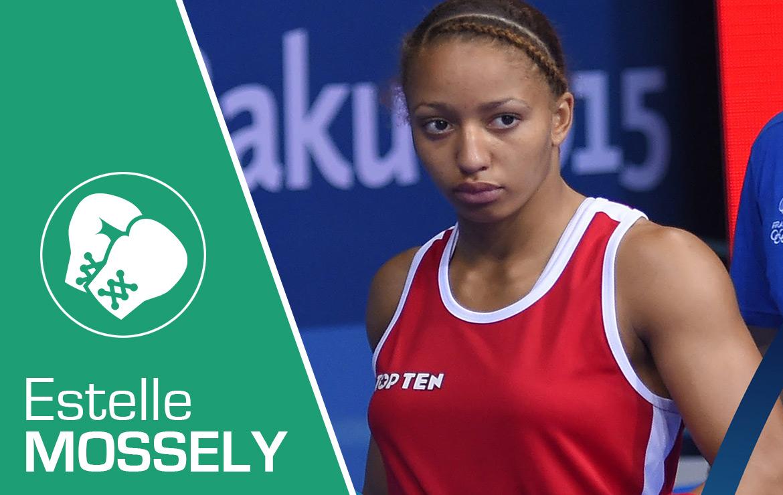Estelle Mossely Championne du monde de boxe amateur