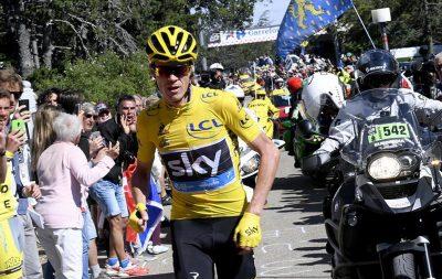 Froome vainqueur du Tour de France 2016 - Arrivée Paris 24 Juillet 2016