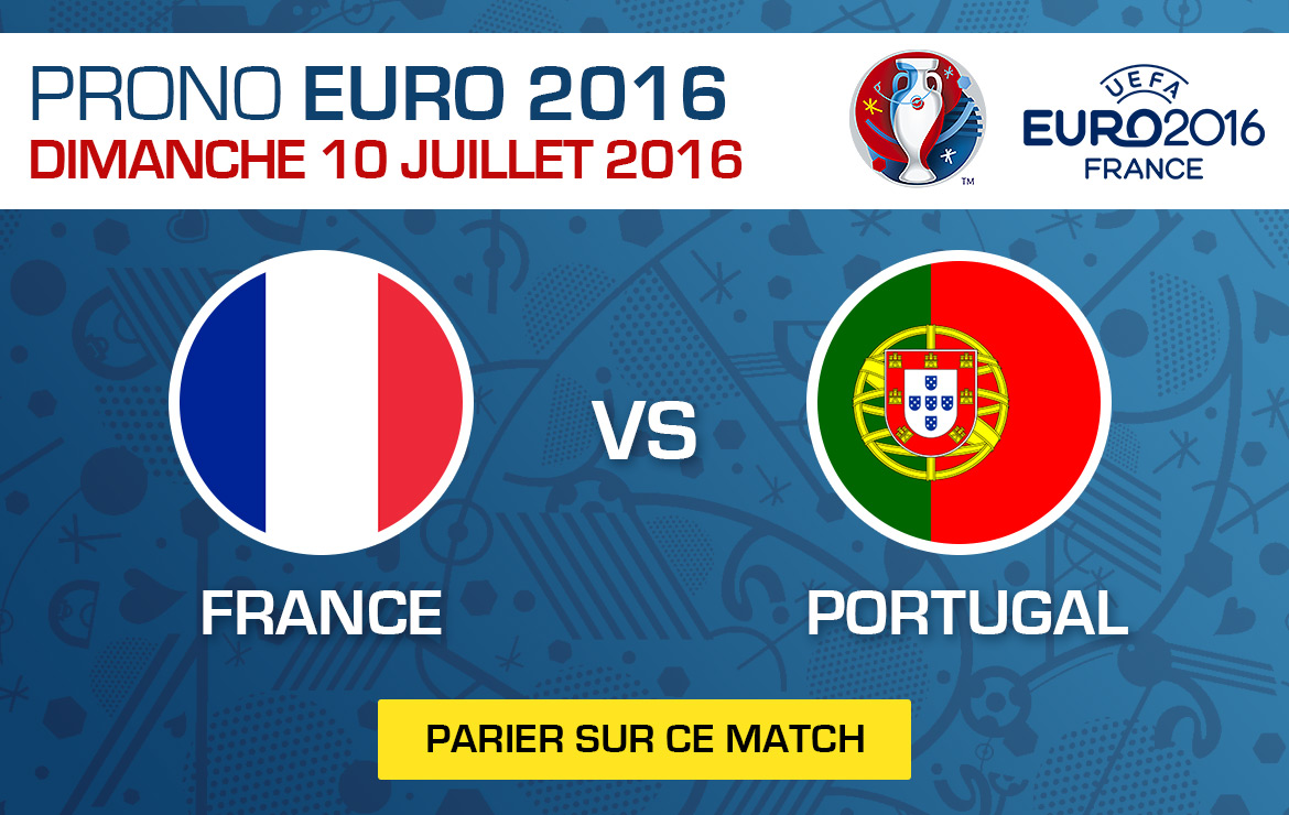 Pronostics match Euro 2016 France / Portugal