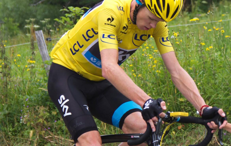 Froome, le cycliste britannique favoris pour la victoire 2016 du Tour de France