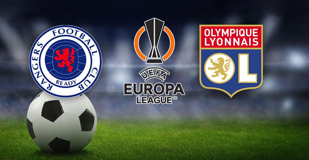 15€ de Freebets offerts sur le match de football de la Ligue Europa : Glasgow Rangers / Lyon