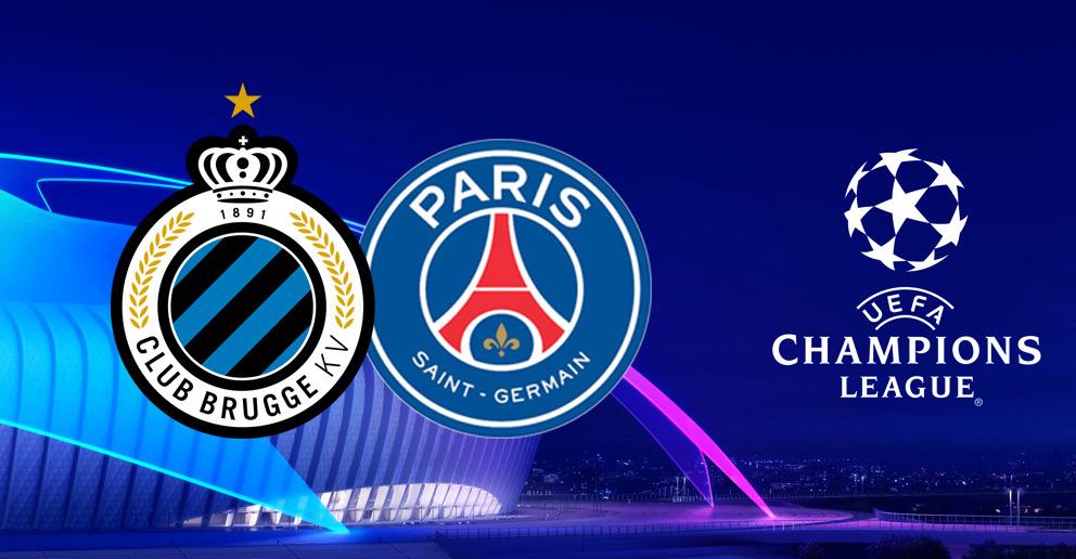 Début de la Ligue des Champion avec le match de football PSG contre Bruges !