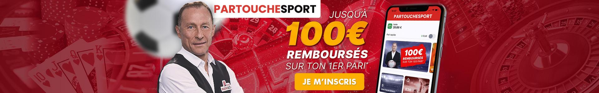 Paris sportifs en ligne : Partouche Sport