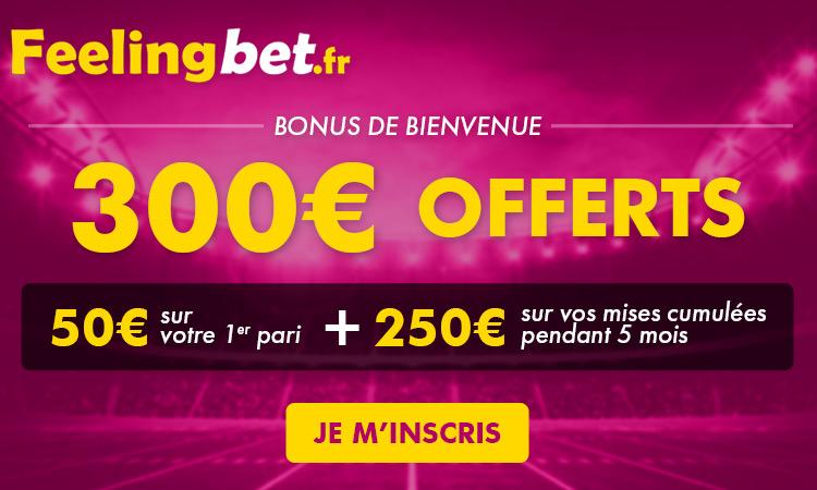 Site de paris sportifs en ligne français FeelingBet